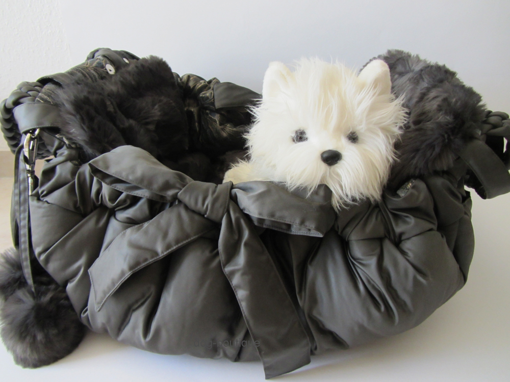 exclusive dog boutique marys nap hundetasche leder