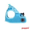 Puppia Softgeschirr Vivien Jacket skyblue(Details)