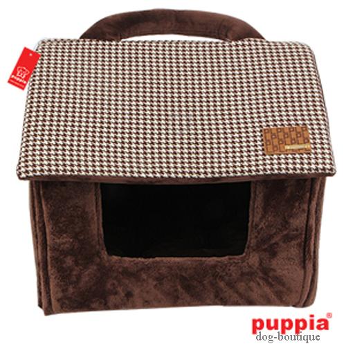puppia hundehaus bett prestige polyester stoff braun pald. Black Bedroom Furniture Sets. Home Design Ideas
