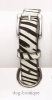 Dogue Halsband Pony Hair Zebra (Details)